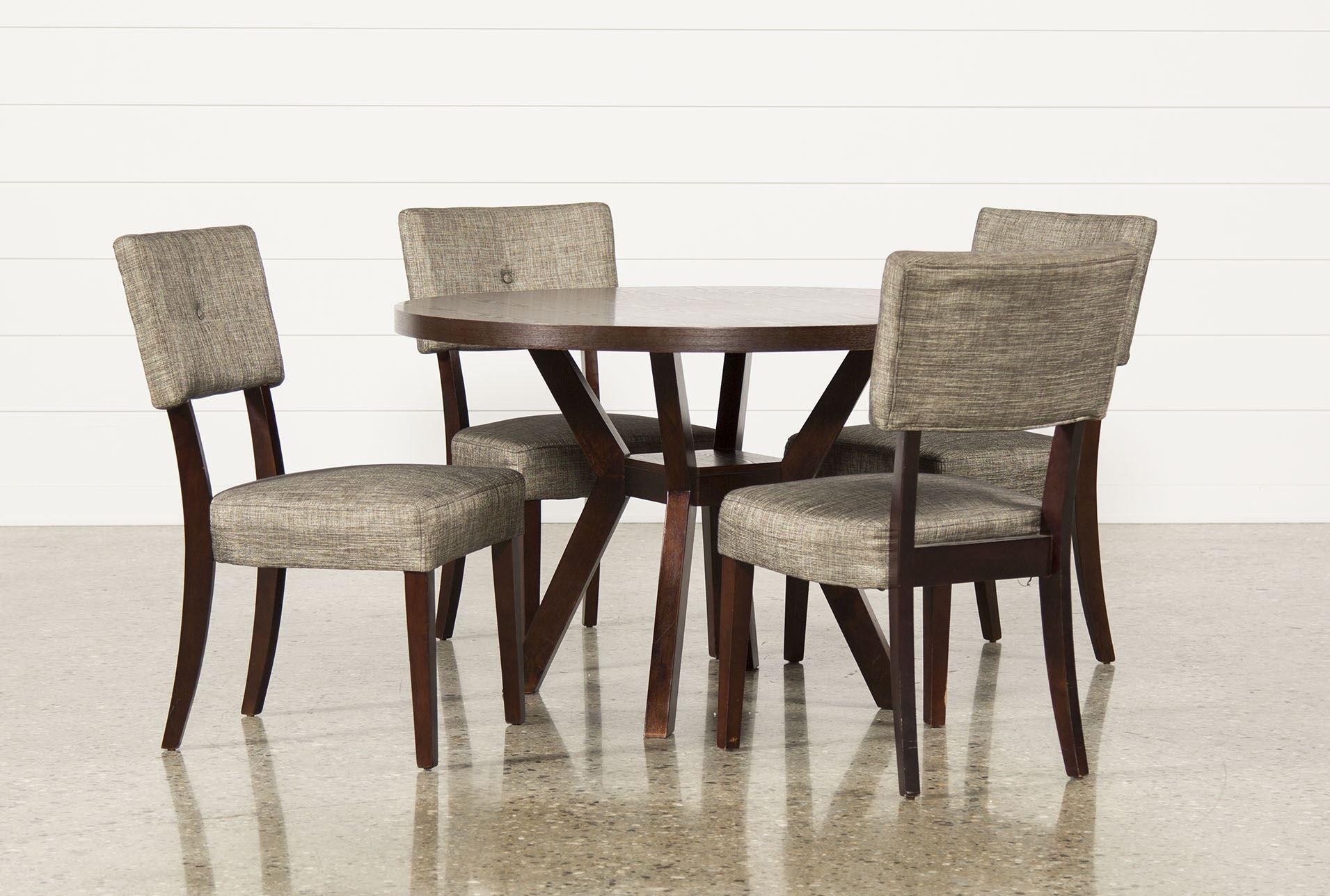 Macie 5 Piece Round Dining Set - Living Spaces | Furniture ...