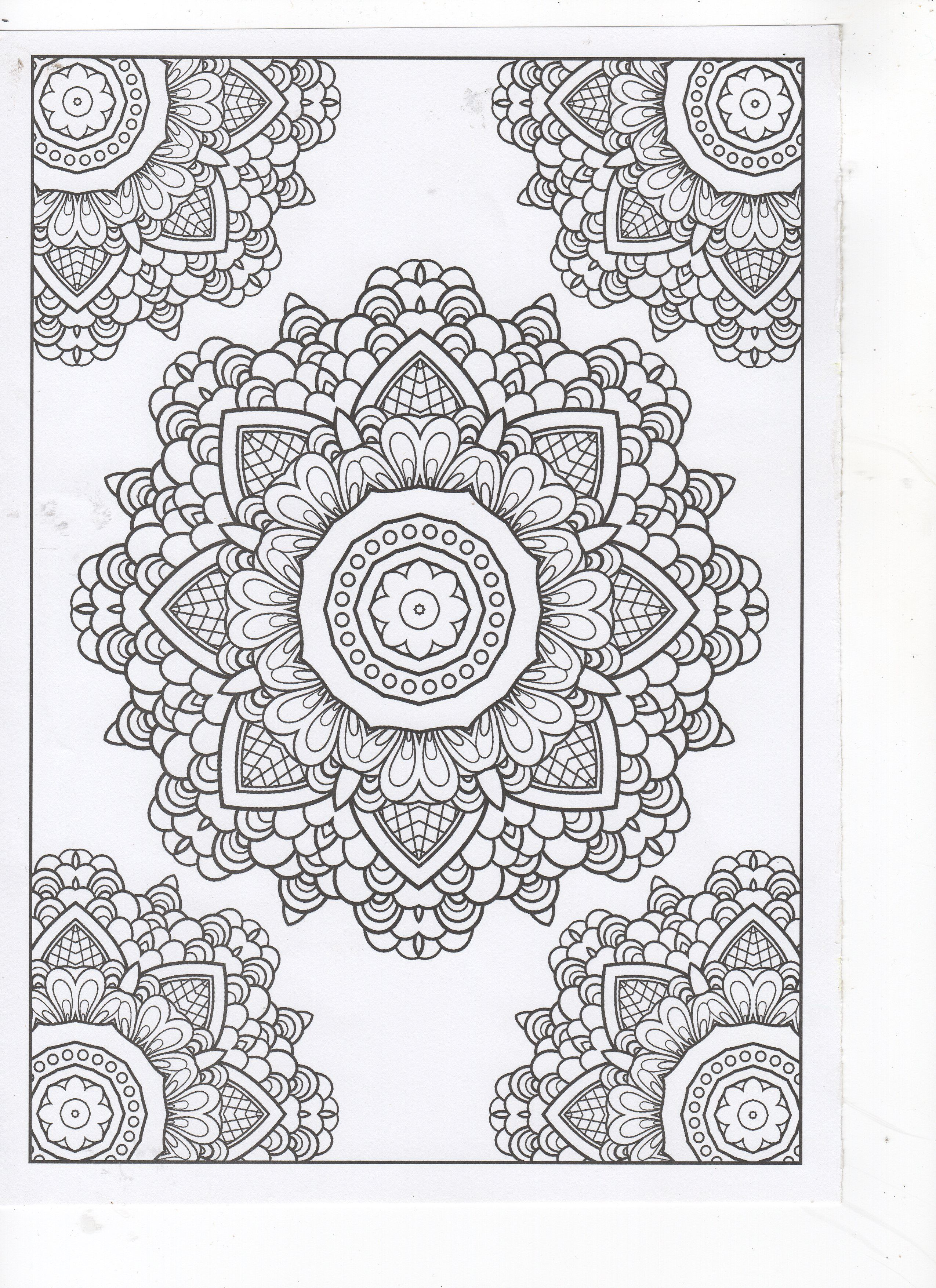 Super Buenas Mandalas Coloring Pages Coloring Books Pattern Illustration