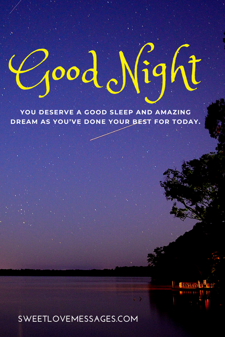 Do Have a Wonderful Night Quotes in 5  Good night quotes, Good