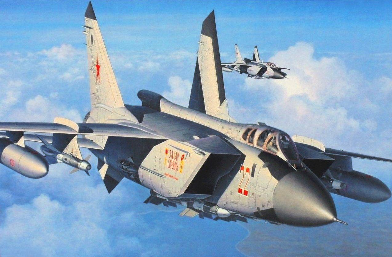 MiG-31 Foxhound (Egbert Friedl)