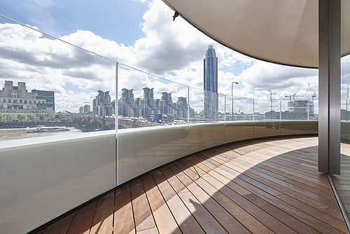 Balcony Waterproofing At Riverwalk London In 2020 Liquid Waterproofing Roof Replacement Cost Roofing Systems