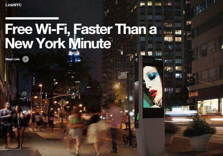 Ver Nueva York comienza a sustituir las cabinas telefónicas por estaciones WiFi
