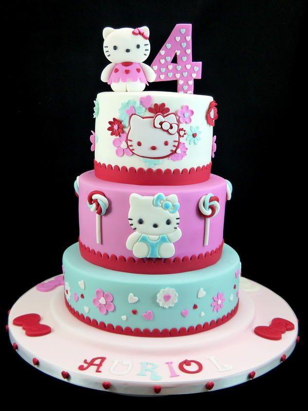 Miraculous Hello Kitty Cake Hello Kitty Birthday Cake Hello Kitty Cake Funny Birthday Cards Online Alyptdamsfinfo