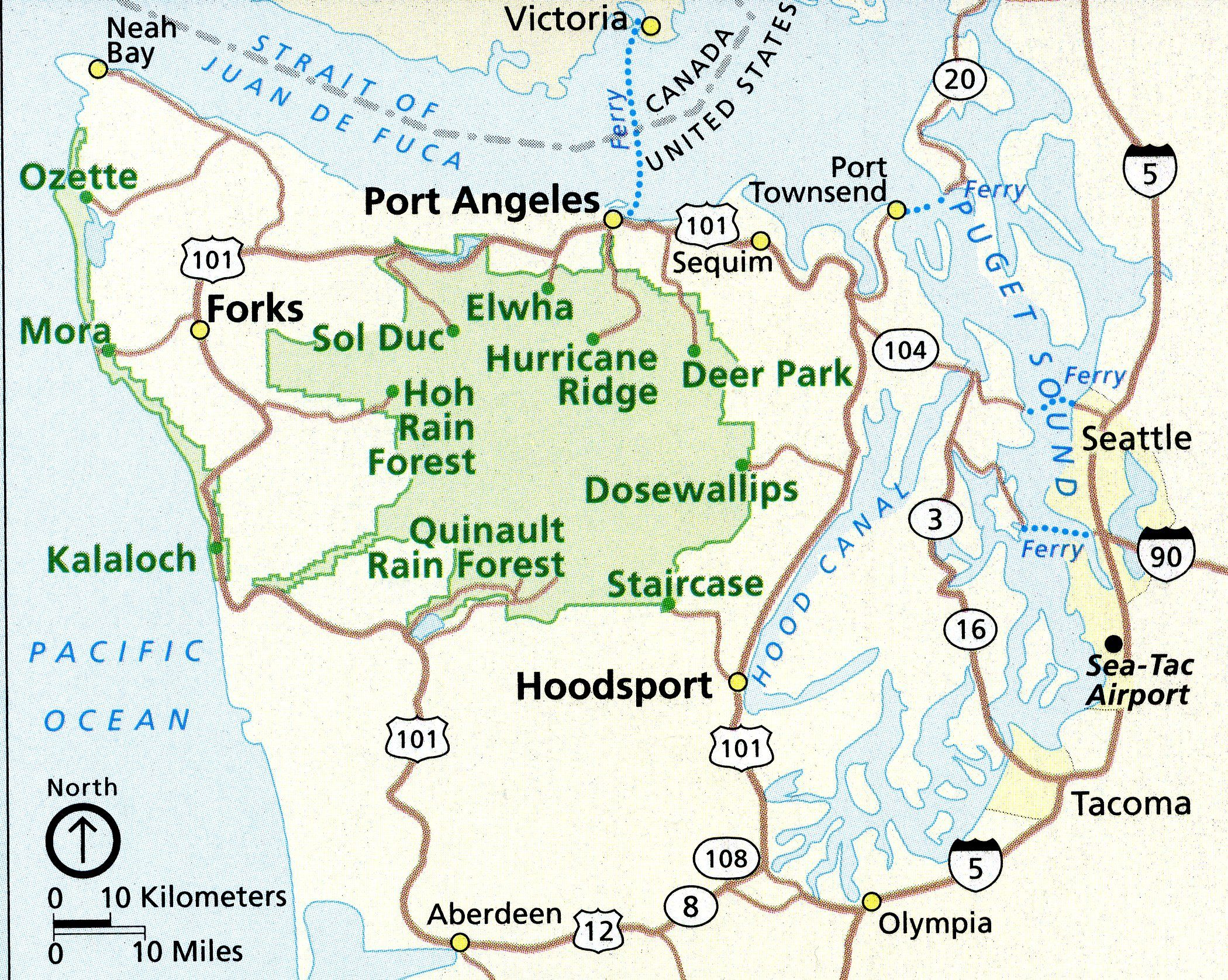 Best Images About Road Trips On Pinterest Caves Olympic - Map of pacific northwest usa