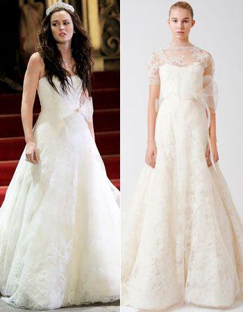 Confirmed Blair Waldorf S Wedding Dress Designer Is Vera Wang Wedding Dresses Vera Wang Vera Wang Wedding Gowns Vera Wang Dress