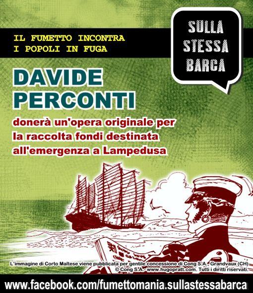 Messaggio promozionale con Davide Perconti