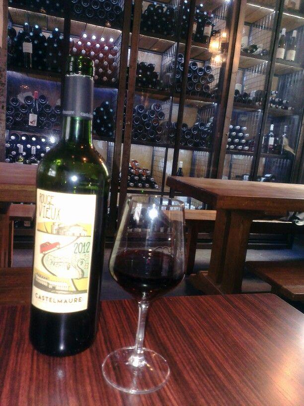 Nice moment in Paris - wine bar