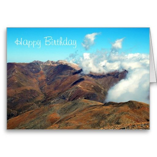 Happy birthday with scenic mountain view greeting cards happy birthday with scenic mountain view greeting cards bookmarktalkfo Gallery