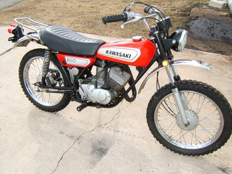 1973 kawasaki g5 100 - just like my first dirt bike. | dirt bikes