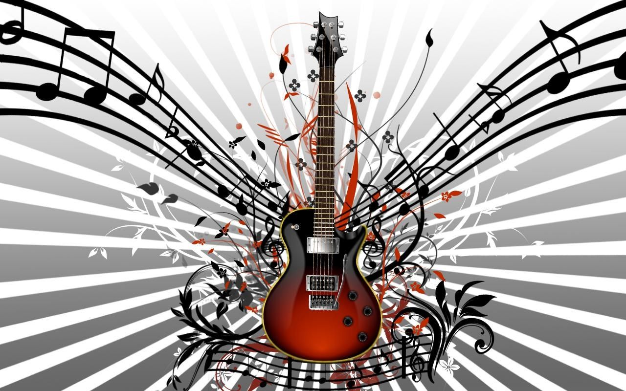 Free Download Guitar Pic 226 KB