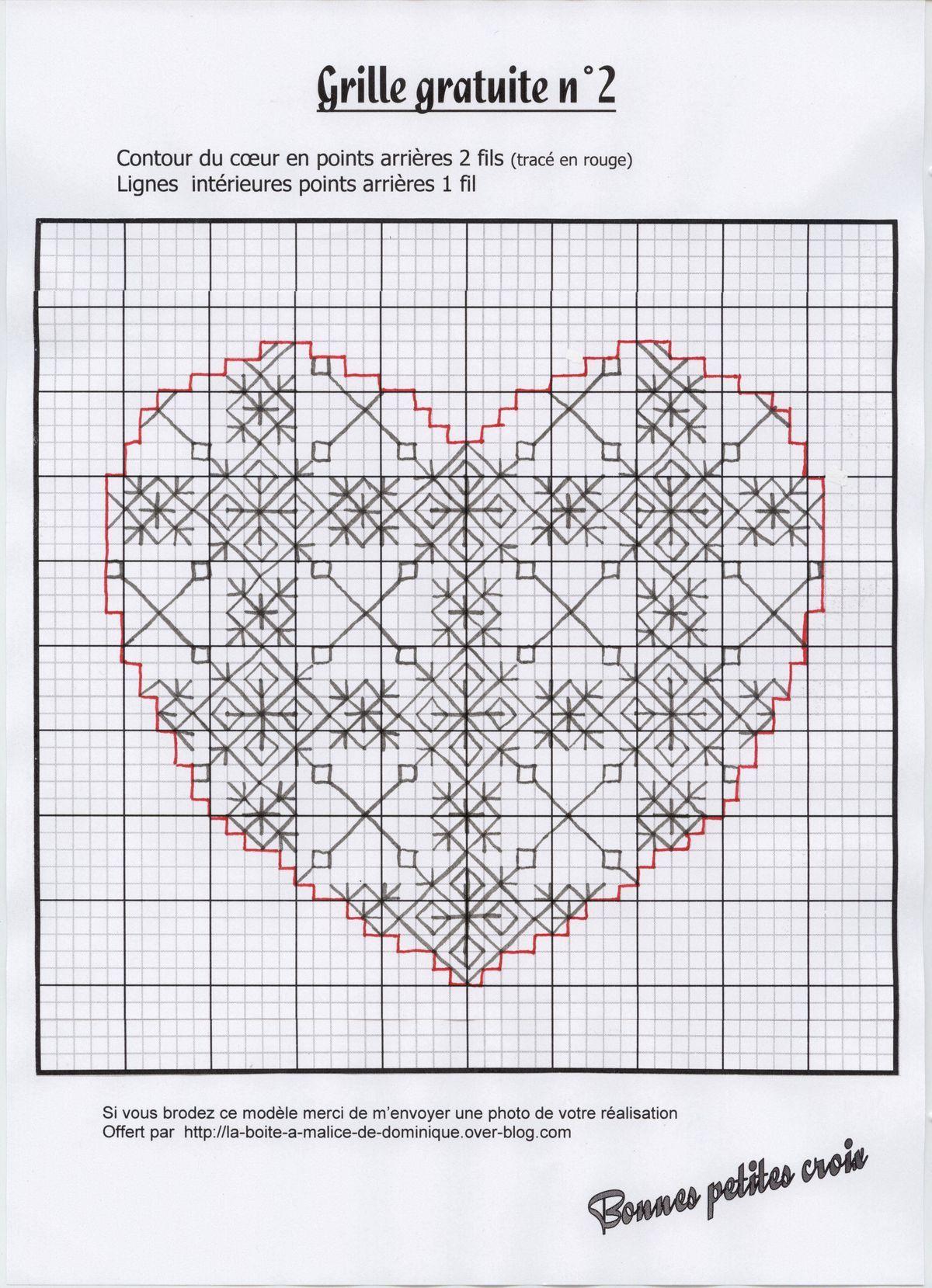 Pin by JoAnn Major on Blackwork | Pinterest | Bordado, Corazones and ...