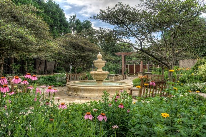 Shakespeare Garden at Botanica in KS - one of the most romantic ...