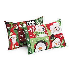 Small Christmas Tapestry Throw Pillows at Big Lots.