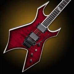 HelloMusic: BC Rich Guitar NJ DLX WARLOCK - Black Cherry http://www.hellomusic.com/items/nj-dlx-warlock-black-cherry