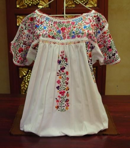 embroidered Mexican blouse by AbbyAyala