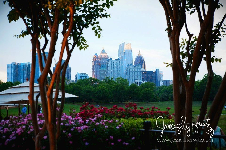 Park Tavern Restaurant at Piedmont Park in Atlanta. View