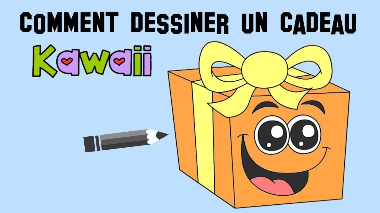 Comment Dessiner Un Cadeau Kawaii Facilement Voici Une