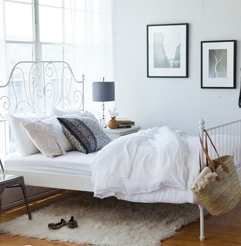 my ikea bed, with low mattress   Room ideas   Pinterest   Para el ...