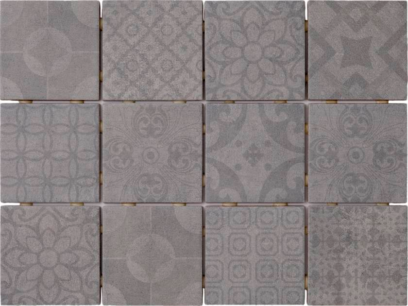 Saga Grey Mix Decor 10x10 Kuvalaatta 1 44m2 Krt Varisilma Decor Grey Flooring