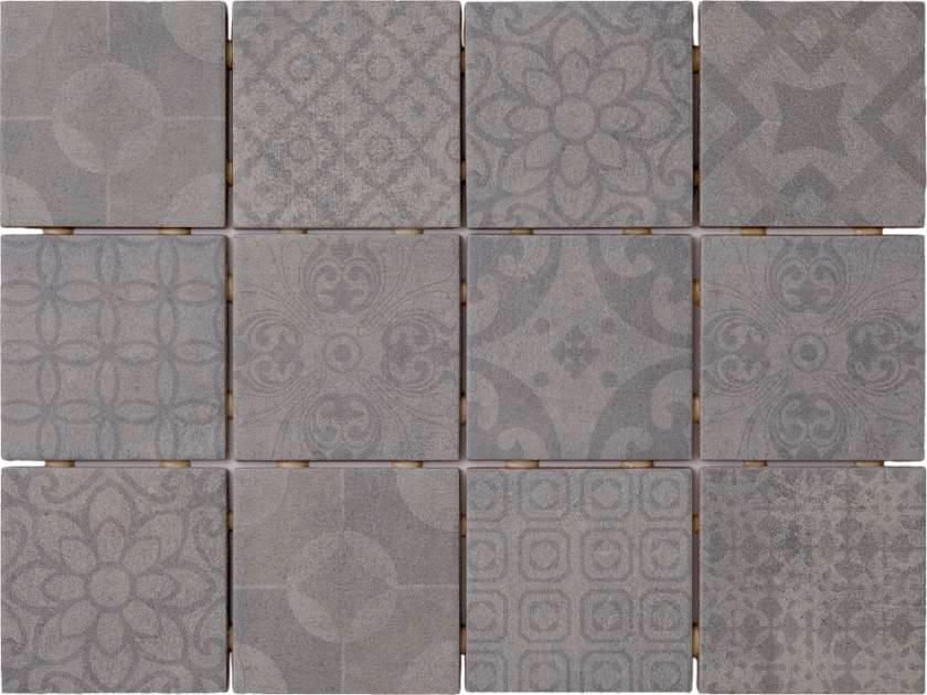 Saga Grey Mix Decor 10x10 Kuvalaatta 1 44m2 Krt Varisilma Decor Grey Flooring