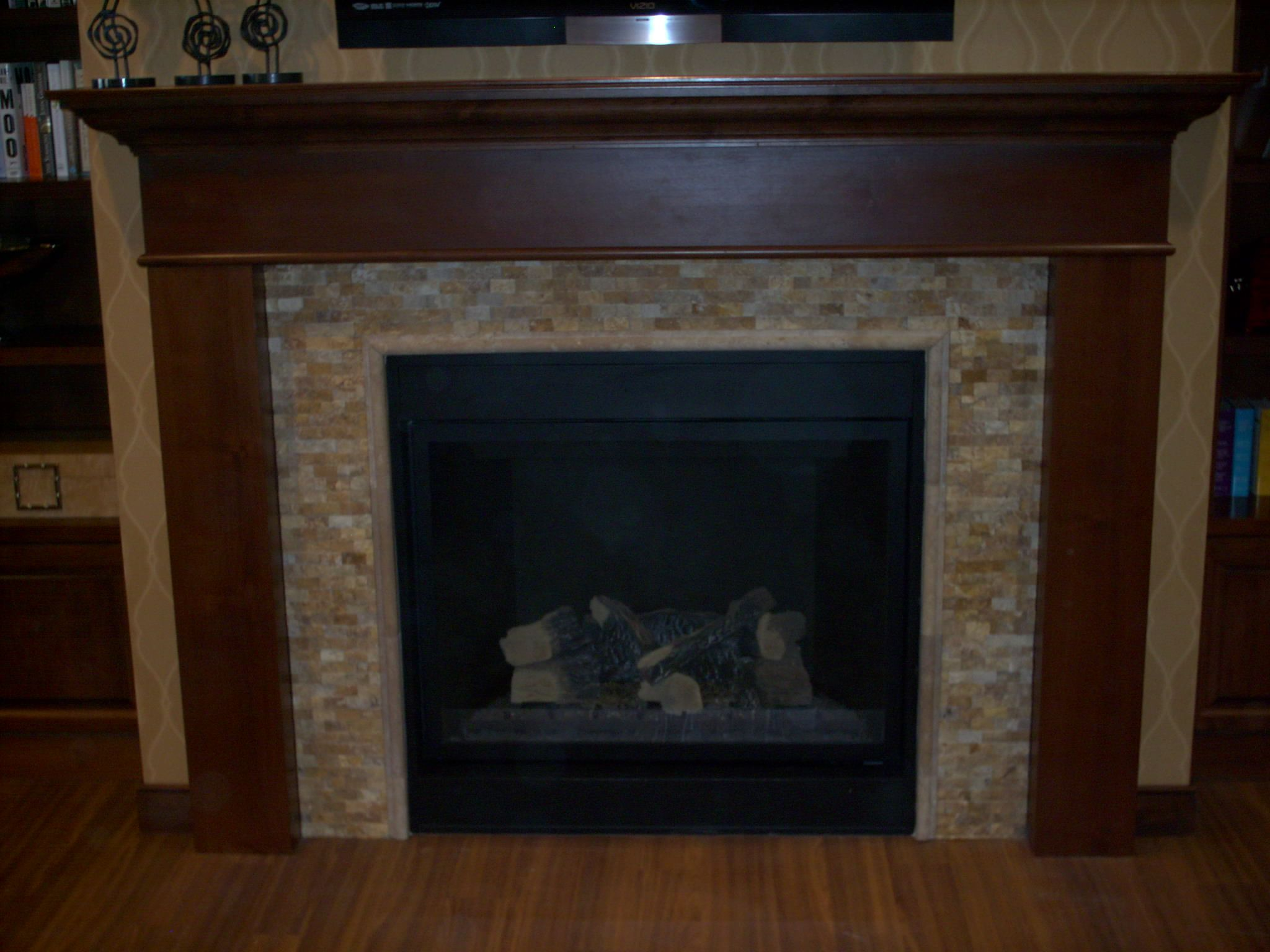 Granite Fireplace Surround Designs | ... fireplace surround in ...