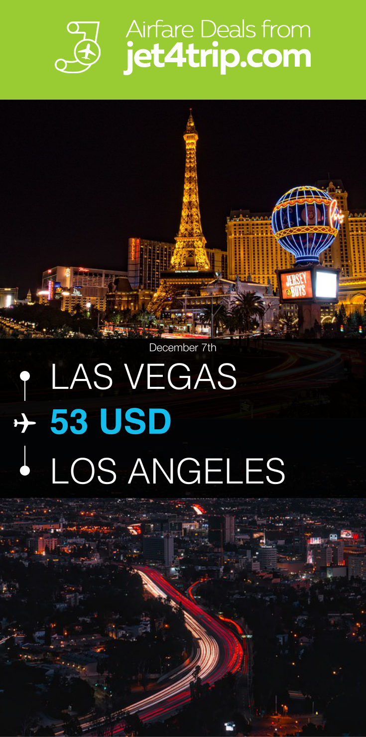 Flight From Las Vegas To Los Angeles For 53 By Spirit Airlines Travel Ticket Deals Flight Las Lax Las Vegas Los A Las Vegas Airfare Deals Best Airfare