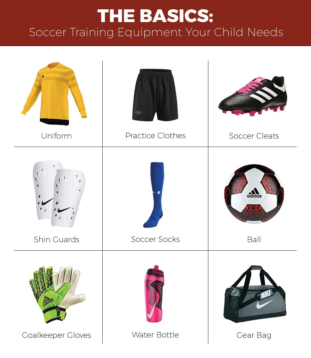 Soccer Equipment Checklist Soccer Equipment List Schuylkill Valley Sports Soccer Equipment Soccer Clothing And Equipment Soccer