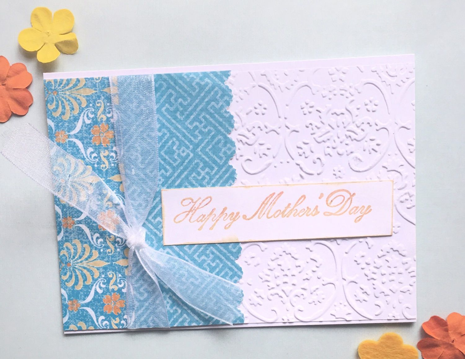 Mothers day greeting card mothers day card handmade mothers day