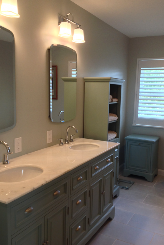 Open Design Bath Remodel In Cleveland Inspired By San