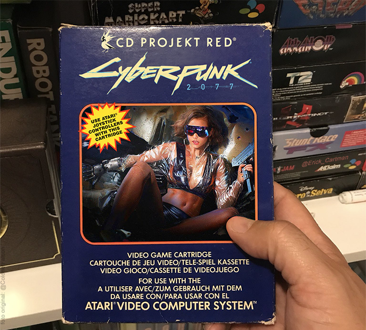 Cyberpunk 2077 Atari Mock-Up Oozes Retro NostalgiaCheck Out Our