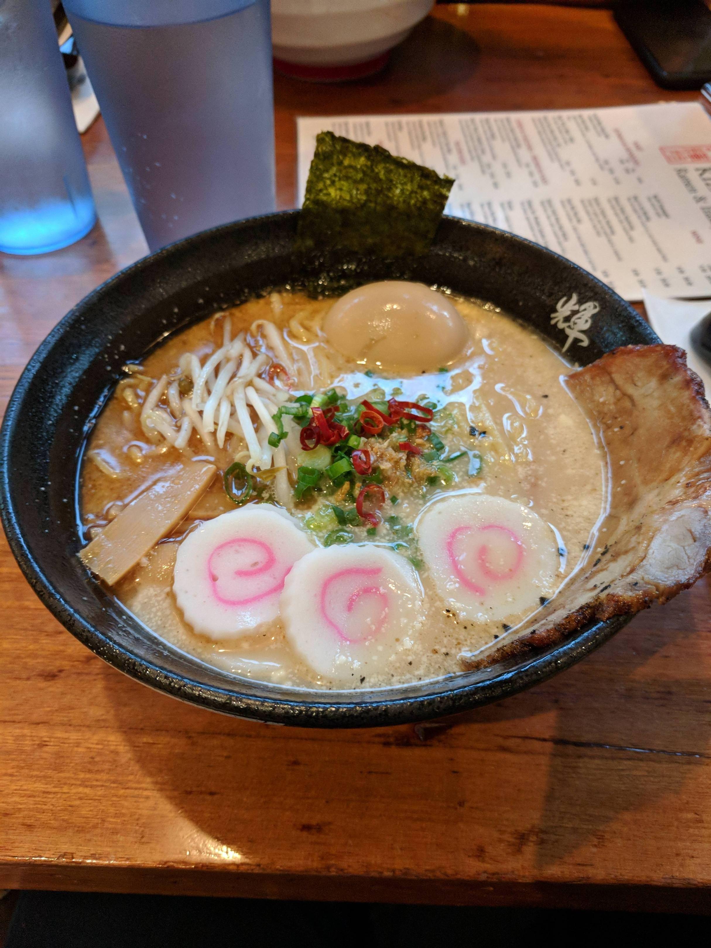 Ramen Noodles With Naruto I Ate Food Recipes Food Recipes
