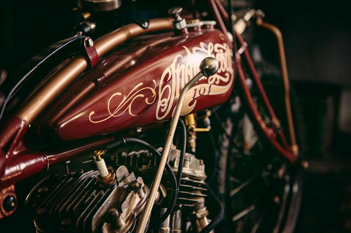HARDNINE 1930 INDIAN Scout on Behance