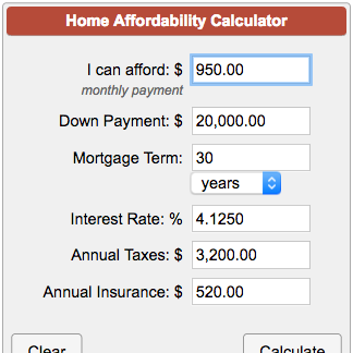 Home Affordability Calculator Calculate The Price Of A House You Can Buy And The Mortgage You Must Take Based On Th Mortgage Monthly Payments Mortgage Loans
