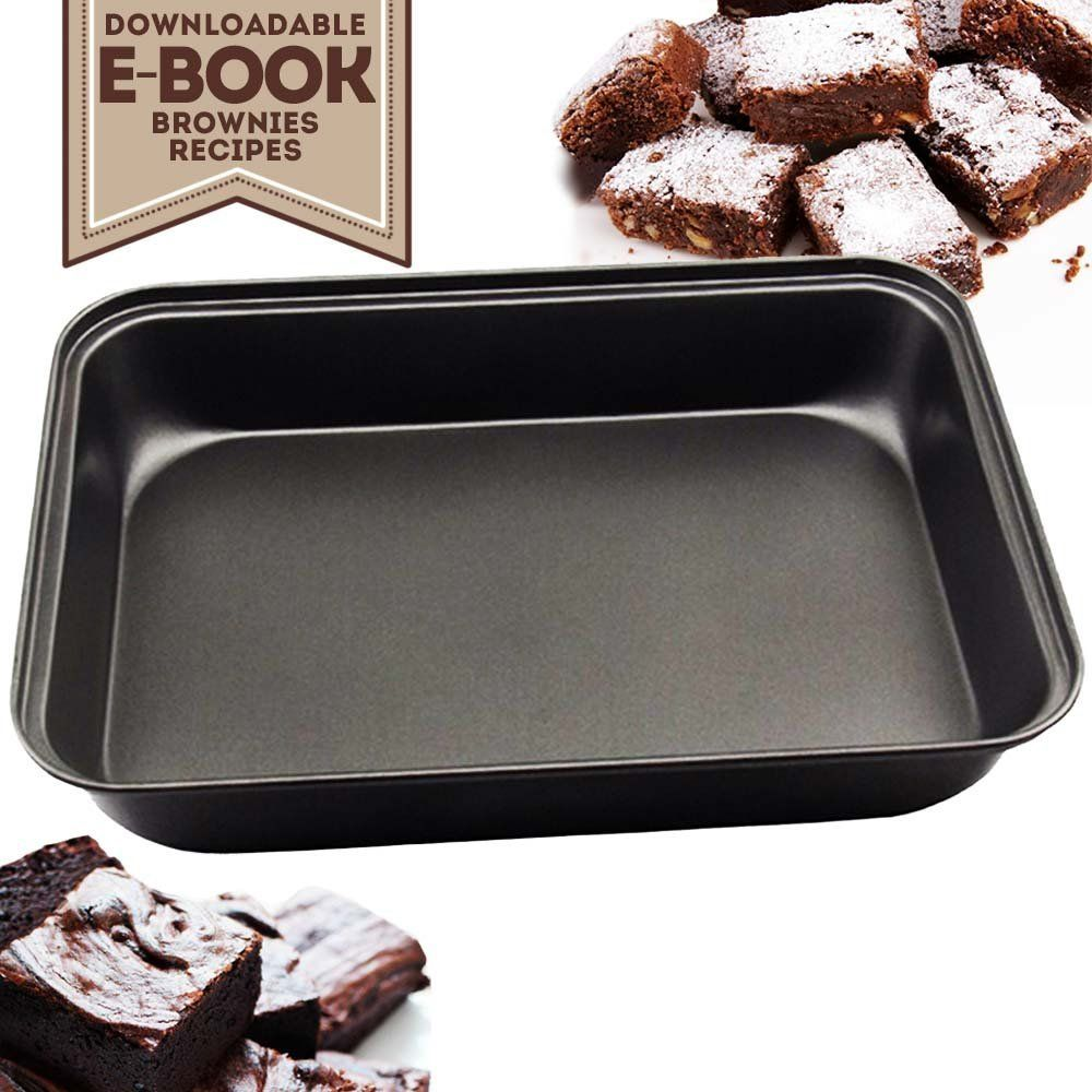 My Brownie Pan Professional Nonstick Bakeware 12 X 8inch