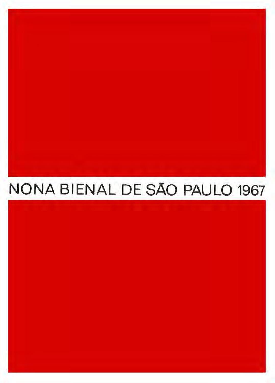 9ª Bienal De Sao Paulo 1967 Catalogo Latin America
