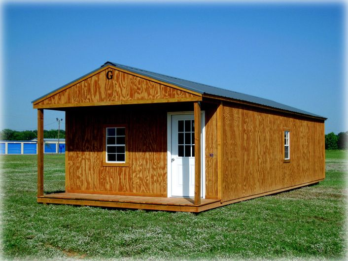 Cabin sizes 8 x 12 to 16 x 40 graceland portable for 16 x 40 portable building floor plans