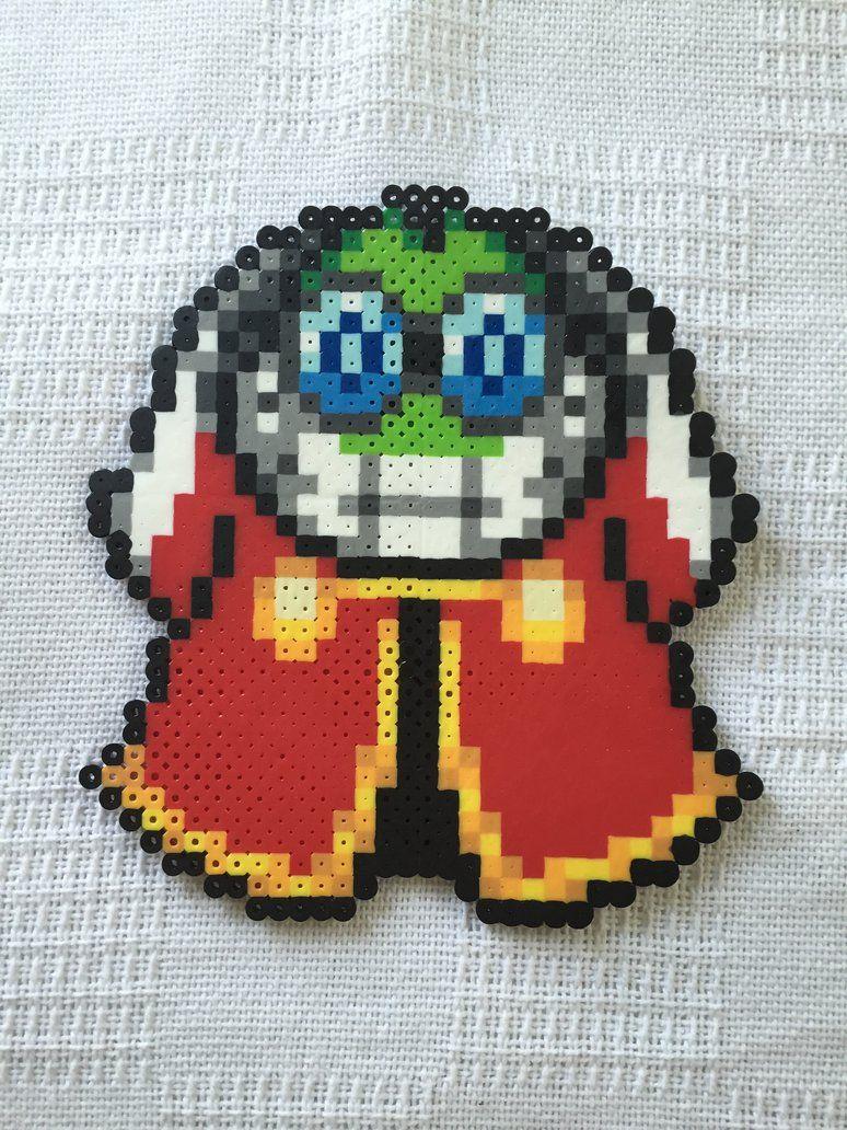 Fawful - Mario perler beads by MarioBossPerlerArt | Minecraft(Super ...