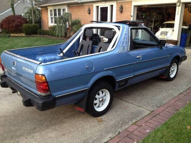 Nice Looking Driver: 1984 Subaru BRAT