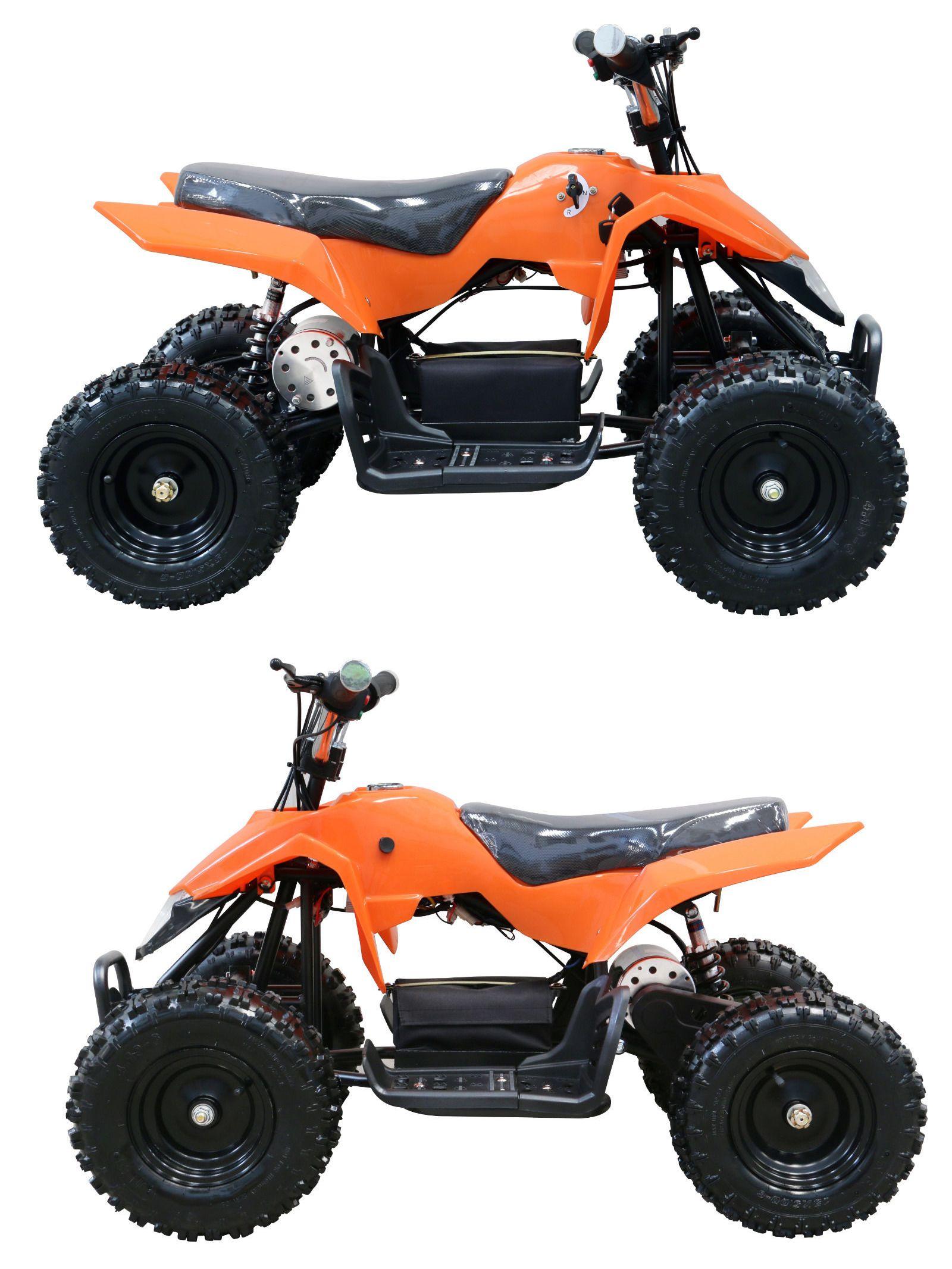 Complete Go-Karts and Frames 64656: 24 V 500 W New Orange Electric ...