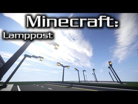 minecraft street lamp tutorial youtube - Lampadaire Minecraft