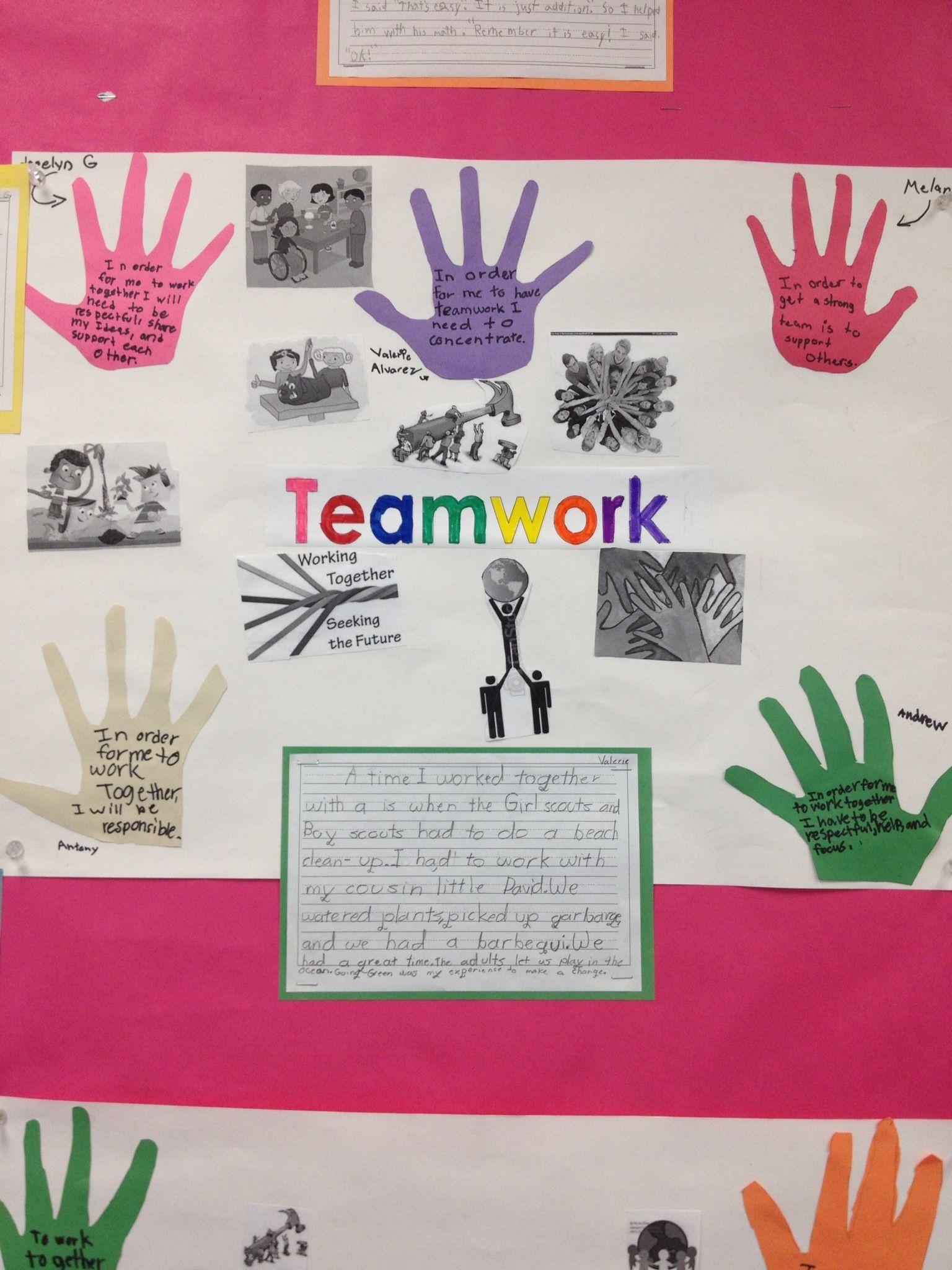 Teamwork 3rd Grade Activity Unit Opener