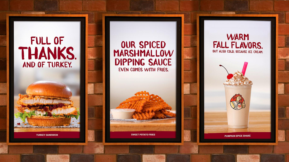 Pdq Outdoor Advert By Ppk Fall Menu Point Of Sale Ads Of The World Fall Menu Autumn Flavors Food Advertising