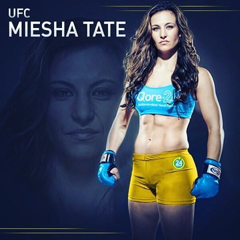 Germs Are Not The Only Thing Qore 24 Athlete Miesha Tate Fights
