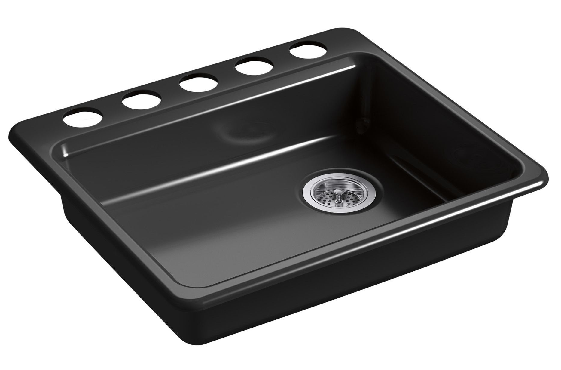 Riverby 25 L X 22 W Undermount Single Bowl Kitchen Sink Single