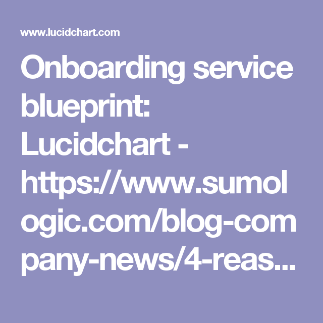 Onboarding service blueprint lucidchart httpssumologic service blueprint company news service design design thinking design process engineering design process malvernweather Choice Image