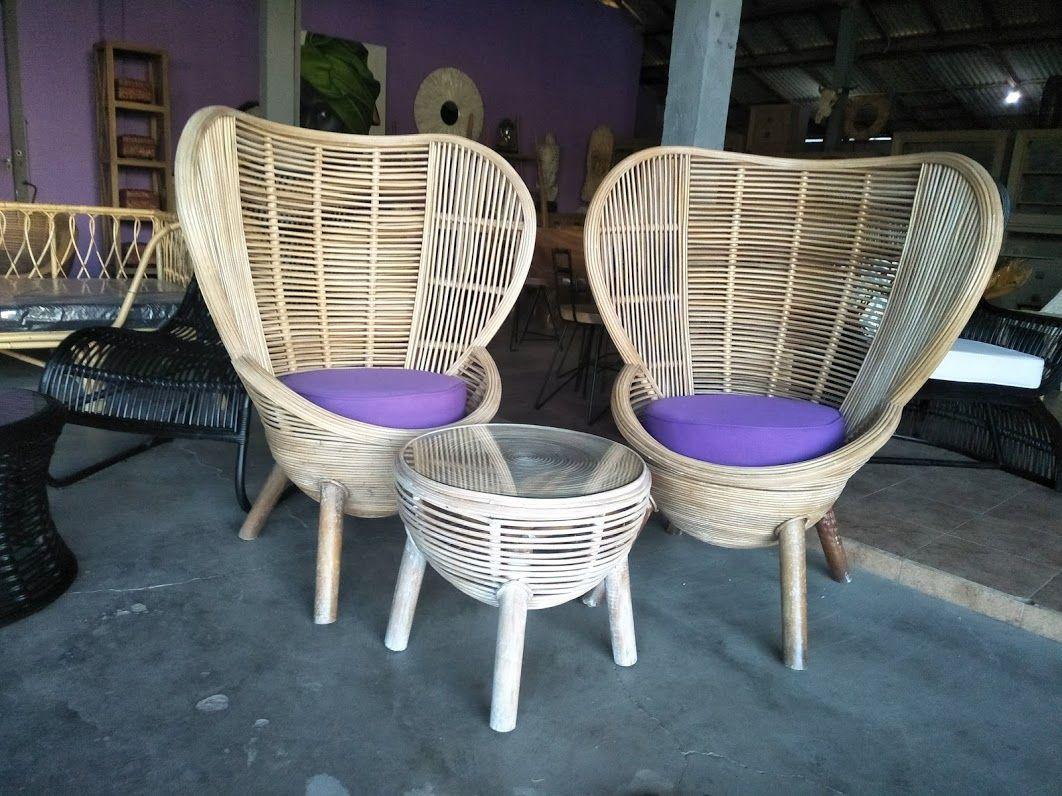 Bali rattan patio set. We export a large range of cane ...