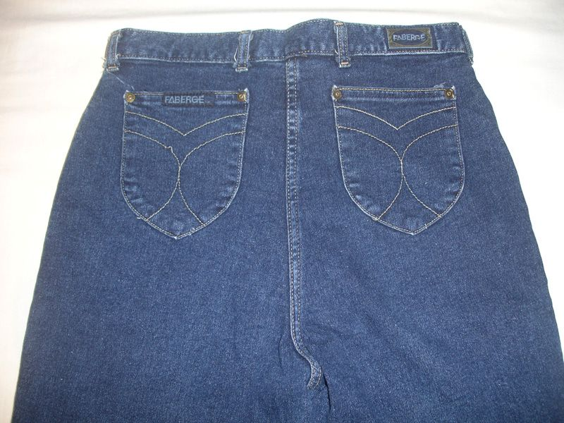 c4b1a2242 Womans vintage high waisted faberge stretch jeans size 16 or 31 ...