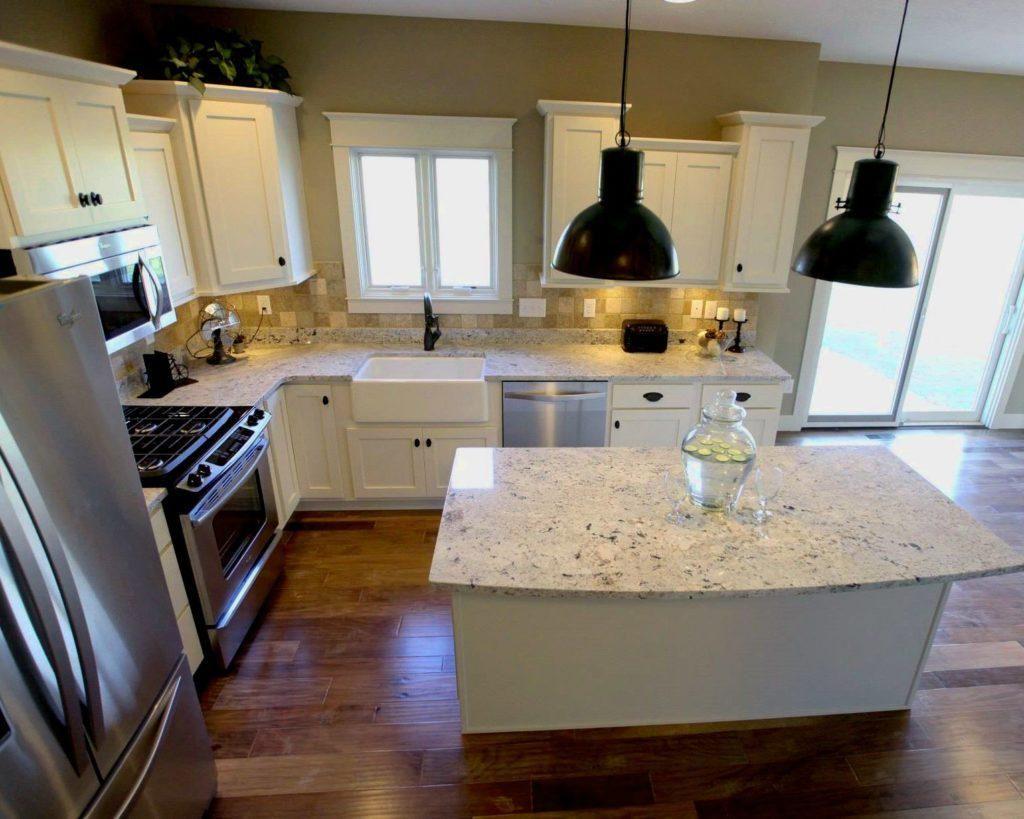Small l shaped kitchen with island kitchen pinterest kitchens