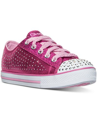 f46905f02c3e Skechers Little Girls  Twinkle Toes  Chit Chat - Pixie Sweets Casual  Sneakers from Finish Line