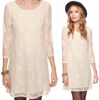 Fabulous Find of the Week: Forever 21 Lace Dress   Forever21, Boho ...